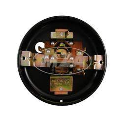 Blechrücklichtunterteil ohne Lichtaustritt f. Kennzeichen - (Metallgehäuse) -  BSL (8522.11)  ø 100mm - ohne Leuchtmittel und Kleinteile - KR51/1, S50
