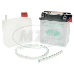 LANDPORT-Batterie 12V 3Ah (YB3L-B) - inkl. Batteriesäure