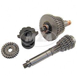 Sportgetriebe 5-Gang  kurze Übersetzung  kpl.mit Schaltwalze (Losrad - 44,40,36,34,32 Z / Festrad - 10,16,19,22,23 Z)