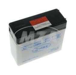 Batterie 6V 4,5 Ah SCHWALBE SOTEX mit Deckel Originalmaße KR51
