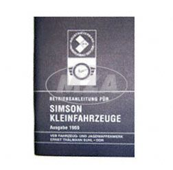 Betriebsanleitung für Kleinfahrzeuge - Ausgabe 1969 mit 16 Bildern