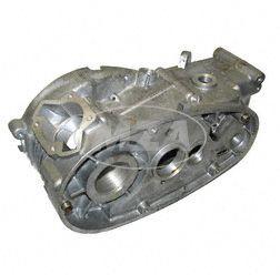 Motorgehäuse  - f. Motor M53 -  fertig bearbeitet - mit Buchse f. Fußschaltung - KR51/1, SR4-2, S50