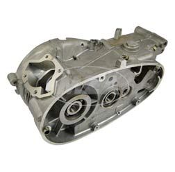 Motorgehäuse  - f. Motor M53 -  fertig bearbeitet - mit Buchse f. Fußschaltung - teilweise vormontiert -  KR51/1, SR4-2, S50