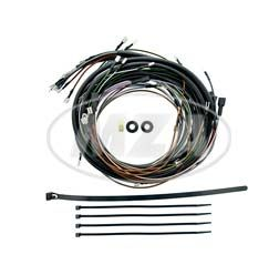 Kabelbaumset S51B2-4 - 6V-Elektronikzündung mit Schaltplan