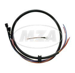 Kabelsatz für Zünder, Grundplatte bei S50B2, SLEZ - B 4x0,75 A 23 - für 8305.1 - Schwunglichtelektrozünder