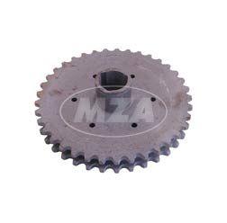Kupplungskettenrad - 2-fach - passend f. MZ  ETZ, TS