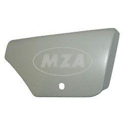 Verkleidung rechts, Seitendeckel - mit Deckelschloß - grundiert - passend f. MZ ETZ250