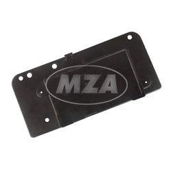 Batteriedeckel, schwarz, Plastik -  ETZ