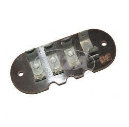 Anschlußplatte, vollständig - 8046.2-221 - zum Stator, Statorhaltekappe, Lichtmaschine ETZ
