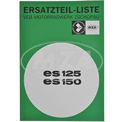 Ersatzteilkatalog ES125, ES150 - Ausgabe 1968