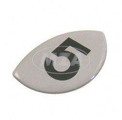"Lámina adhesiva número ""5"" para tapa de embrague (5-marchas)"