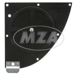 LT-FILU-Tuningluftfilter, modifiziert für optimiertes Ansaugverhalten - mit Bulpren Doppel-Filtermatten - schwarz