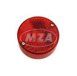 Rücklichtkappe, rot - für Mofa SL1 kpl., inkl. Schrauben - zur Schlussleuchte