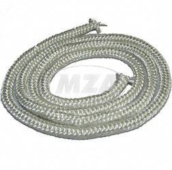 Asbestschnur - Ersatz / Glasfaserschnur für Anschluß- und Endstück, D6  (geschnitten 1m ) SR1,SR2, KR50/51, AWO