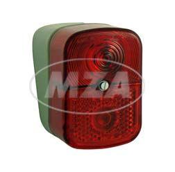 Bremsschlusskennzeichenleuchte, roter Lichtaustritt - BSKL 8522.13/1 - KR51/1, SR4-1, SR4-2, SR4-3, SR4-4