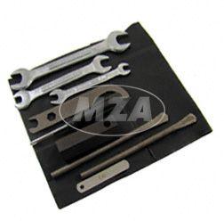 Werkzeugtasche inkl. Bordwerkzeug, 10-teilig - mit Abstandslehre 0,35 mm