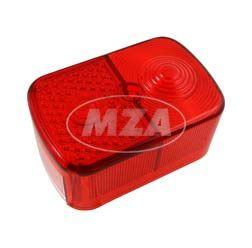 Rücklichtkappe, eckig, rot, kpl. - 8522.13-200 - KR51/1, SR4-1, SR4-2, SR4-3, SR4-4