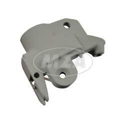 Klemmstück - grau - Lenkerarmatur links - für Aluminium-Kupplungshebel - Vogelserie