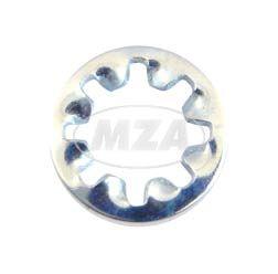 Zahnscheibe I5,3-FSt-A4K (DIN 6797) - Innengezahnt - 5,5x10 - 0,6