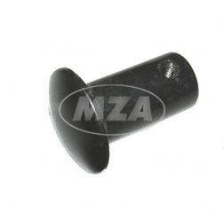 Abschlußpilz f. Lenker - Abschlußstopfen -  Kunststoff schwarz - passend für MZ und Simson