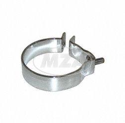 Abrazadera silenciador compl. con soporte Ø=80mm RT 125/2/3