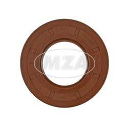 Wellendichtring NJK 30x62x10 - FPM - Viton - braun - mit Staublippe