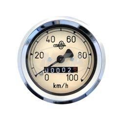 Tachometer MESTRA - AS 60mm (100 Km/h)