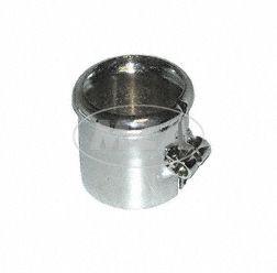 Schelle mit Wulst zum Auspuff, Ø=40mm,  verchromt passend für BK350