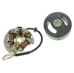 Schwunglichtprimärzünder SLPZ 8307.3/3 komplett - Unterbrecherzündung - 6V 25/25 W Bilux - z.B. für DUO 4