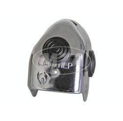 Gehäuse für Abblendschalter CHROM (Chromkappe), Metall Ausführung 8606.13/1-LAS/HLP ( ohne Ausschnitt f. Kabel ) - Simson / MZ
