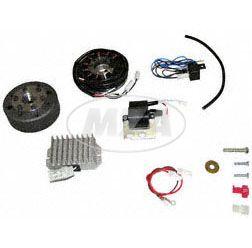 Lichtmagnetzündanlage 6V 75W mit integrierter vollelektronischer Zündung für ES125, 150, ETS125, 150, TS125, 150
