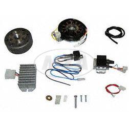 Lichtmagnetzündanlage 12V 100W Gleichstrom mit integrierter vollelektronischer Zündung für Roller Ludwigsfelde (Pitty, SR56, SR59, TR150)