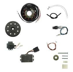 Lichtmagnetzündanlage 6V 75W mit integrierter vollelektronischer Zündung  RT125