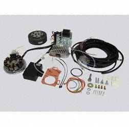 Lichtmagnetzündanlage kpl. mit Kabelbaum passend für AWO425 Sport 12V 150W - Zündung -