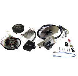 Lichtmagnetzündanlage, 12V 150W Zündung kpl., BK350 - Umrüstsatz