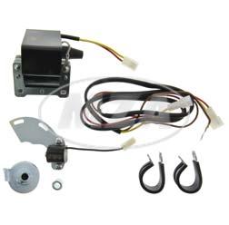 Elektronische Zündung ohne Lichtmaschine f. alle ETZ - umgekehrte Polarität - Bitte vorher nachfragen (Magnetfeldrichtung)  für Nachwende-Rotoren mit Kupferringen