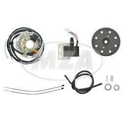 Lichtmagnetzündanlage 6V 18W mit integrierter vollelektronischer Zündung für Mofa SL1