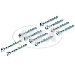 SET Normteile Motorgehäuse - Innensechskantschrauben, 10-teilig - M500-M700