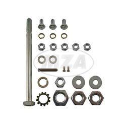 Normteile-Set KR51/2 Rahmen-Hinterradschwinge-Kippständer-Fußbremse