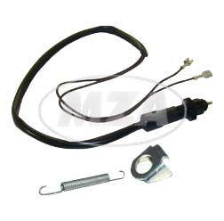 SET Bremslichtschalter + Aufnahme für Hinterradbremse 8607.1/1 für S51, S70, S53, S83