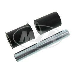 SET Motorlagerung hinten - für M53 + M54-Motoren - 2x Lagergummi + 1x Zwischenrohr - SR2E, KR50, KR51/1, Star, DUO4/1