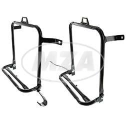 SET Seitengepäckträger - rechte und linke Seite - für S50, S51, S70 - Komplett in schwarz