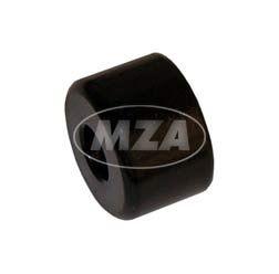 Schwingungstilger  außen, verkehrsschwarz - Lenkergewicht - Schikra 125/ Simson 125 RS