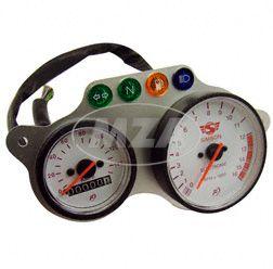 Anzeigeeinheit Facomsa - Tachometer + Drehzahlmesser - Simson 125