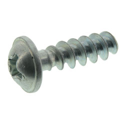 Lenticular flange head screw - 4x14-St A4K - with cross slot  - plastic screw for thermoplastics