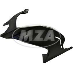Seitenverkleidung links, schwarzer Kunststoff, ohne Beschichtung - Simson 125 RS