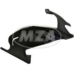Seitenverkleidung rechts, schwarzer Kunststoff, ohne Beschichtung - Simson 125 RS