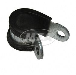 Pipe fastening clip NORMAFIX RSGU.1 12/12 - clamping range 12mm - for fastening of pipes, leads, wiring harnesses, hoses etc.