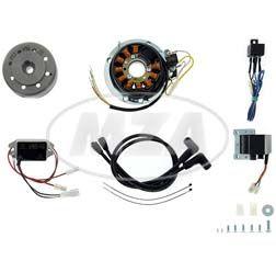 Lichtmagnetzündanlage 12V 150W - pass. für Yamaha RD 250-350, DS7, TZ250, TZ350