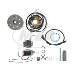 Lichtmagnetzündanlage 12V/ 180W, DC - pass. f. Yamaha DT1/2/3, RT1/2/3, DT250/360/400, TY250, YZA250